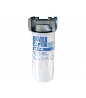 FILTRO SEPARADOR AGUA WATER CAPTOR 30 MICRAS 70 L/MIN