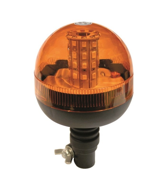 FARO ROTATIVO LED ASTA FLEXIBLE 12/24V TECNOCEM