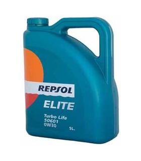 REPSOL 0W30 ELITE TURBO LIFE 5L