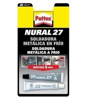 SOLDADURA METALICA RAPIDA NURAL 27 22ML