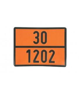 PLACA TRANSPORTE GASOIL 30/1202