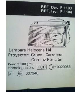 FARO CRUCE-CARRETERA Y POSICIÓN IZQUIERDO SEAT RONDA