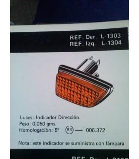 PILOTO INTERMITENTE LATERAL DERECHO SEAT RONDA