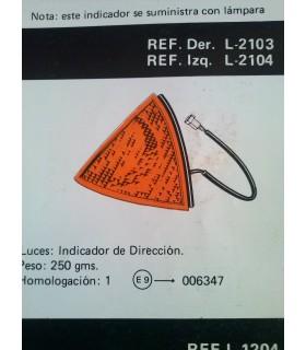 PILOTO INTERMITENTE LATERAL IZQUIERDO SEAT RONDA
