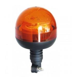 FARO ROTATIVO LED ASTA FLEXIBLE 12/24V