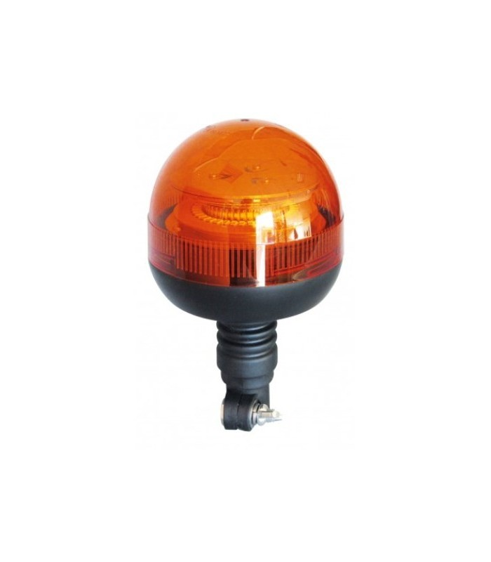 FARO ROTATIVO LED ASTA FLEXIBLE 12/24V