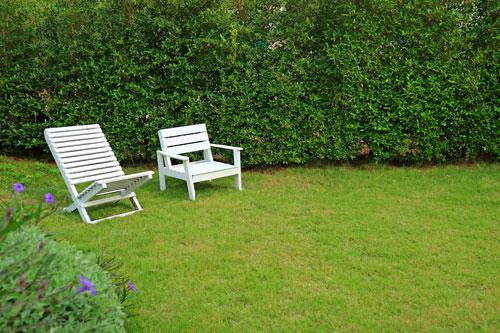 El tamaño del jardín importa. La composición del terreno influye igualmente, si es llano o pendiente.